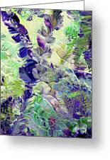Sapphire Violet Greeting Card