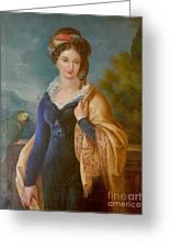 Sar La Principessa Marianna  Greeting Card