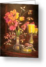 Sarah's Bouquet Greeting Card