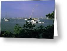 Sarasota Bay Harbor Greeting Card