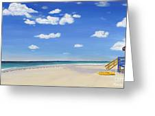 Sarasota Beach Greeting Card