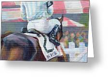 Saratoga Stripes Greeting Card
