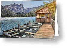 Sardine Lake Greeting Card