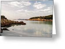 Sardinian Coast I Greeting Card