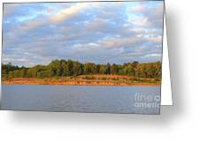 Sardis Lake Greeting Card