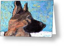 Sarge II Greeting Card