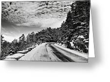 Sargents Drive Greeting Card