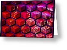 Sari Cubed Greeting Card