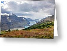 Saskatchewan Glacier In Canada Greeting Card