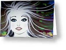 Sassy Sapphire Greeting Card
