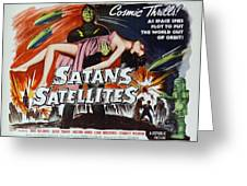 Satan's Satellites Greeting Card