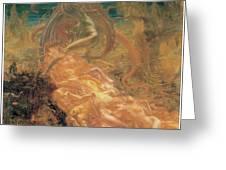 Satan's Treasures Greeting Card