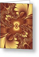 Satin And Lace Greeting Card