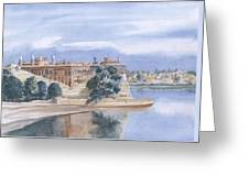 Sattaein Jo Aastan Greeting Card