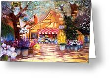 Saturday Market Place Greeting Card