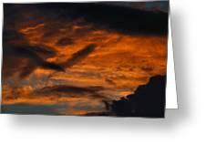Saturday Sunset Greeting Card