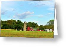 Sauer Farm, Mt. Marion Greeting Card