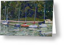 Saugeen Sails Greeting Card