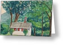 Sauna At Murray Hollow Greeting Card