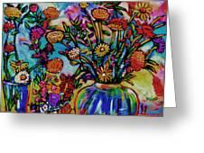 Sauvie Island Flowers Greeting Card
