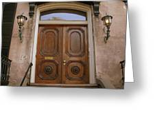 Savannah Doors I Greeting Card
