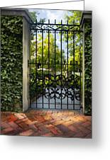 Savannah Gate II Greeting Card