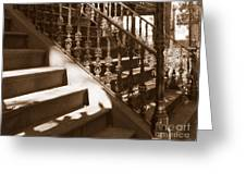 Savannah Sepia - Stairs Greeting Card