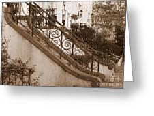Savannah Sepia - Stoops Greeting Card