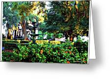 Savannah Square Greeting Card