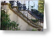 Savannah Stairs Greeting Card