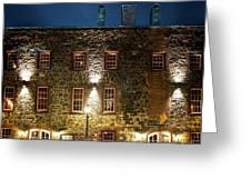 Savannah's Historic River Street Greeting Card