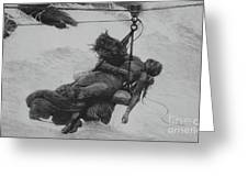 Saved, 1889 Greeting Card