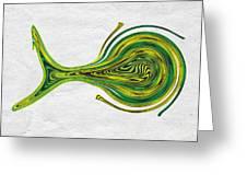 Saw Fish Greeting Card