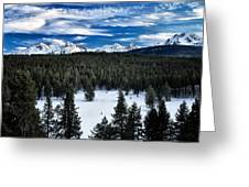 Sawtooth Winter Greeting Card