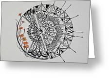 Saxifraga 'peter Pan' Greeting Card
