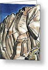 Scafell Crag 2  Greeting Card