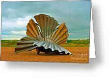 Scallop. Greeting Card