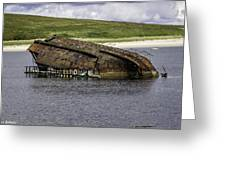 Scapa Flow Greeting Card