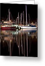 Scarborough Boats Greeting Card