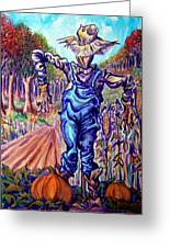 Scarecrow Greeting Card