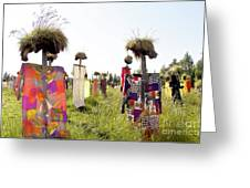 Scarecrows Greeting Card