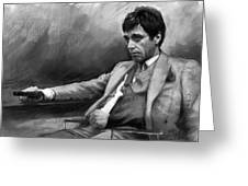 Scarface 2 Greeting Card