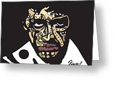 Scarface Greeting Card