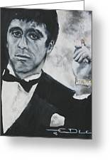 Scarface2 Greeting Card
