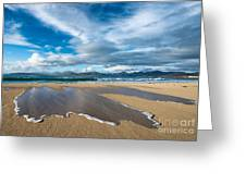 Scarista Beach Isle Of Harris Greeting Card