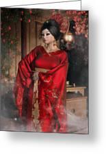 Scarlet Empress Greeting Card