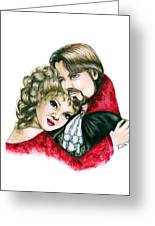 Scarlett And Nick Greeting Card