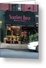 Scarlett  Rose Greeting Card