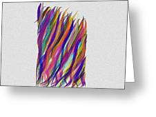 Scarves Greeting Card