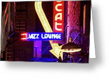 Scatt Jazz Lounge 030318 Greeting Card